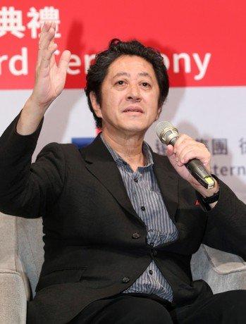 團紀彥建築師昨天出席遠東建築獎。 記者林澔一/攝影
